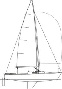 J22 Sail Boat